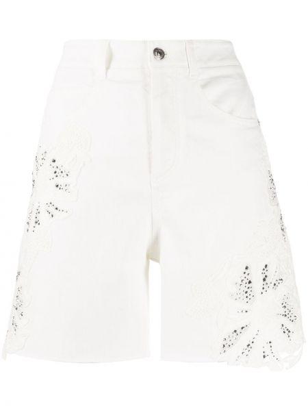 Джинсовые шорты с карманами классические Ermanno Scervino