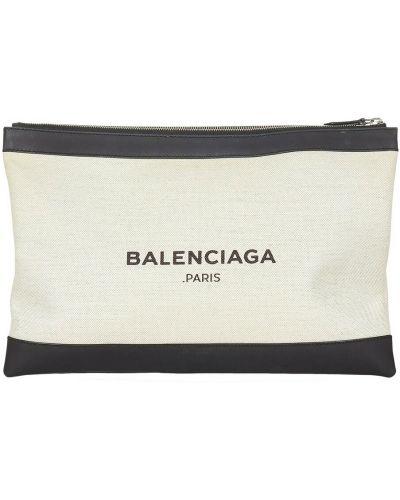Biała kopertówka Balenciaga Vintage