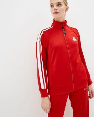 Красная весенняя кофта Zasport