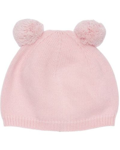Wełniany różowy kapelusz Il Gufo