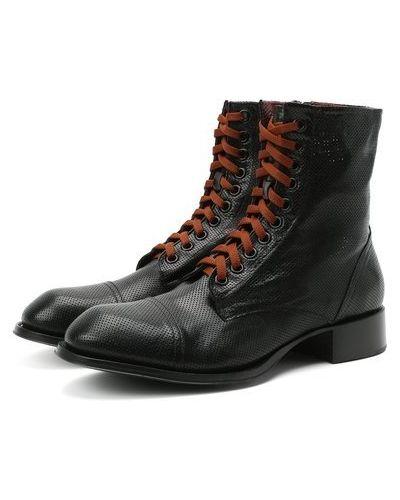 Кожаные ботинки с подкладкой Rocco P.