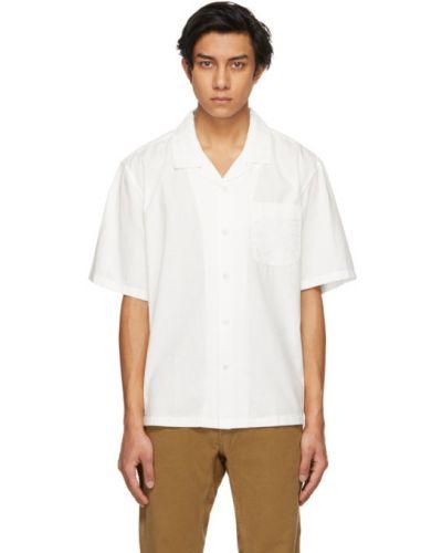Czarna koszula krótki rękaw bawełniana Rag & Bone