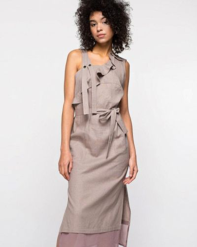Платье - коричневое Urban Streets