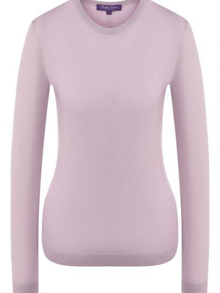 Кашемировый пуловер - фиолетовый Ralph Lauren