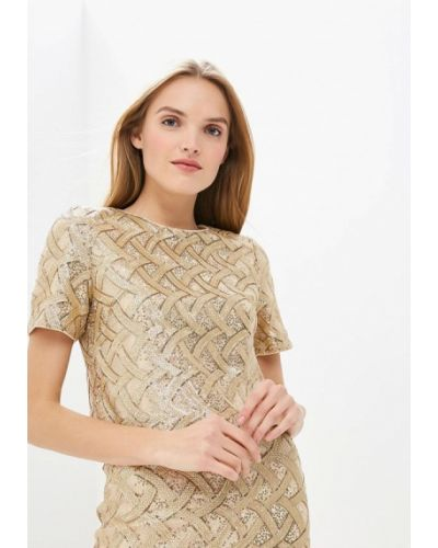 Блузка с коротким рукавом золотой Ruxara