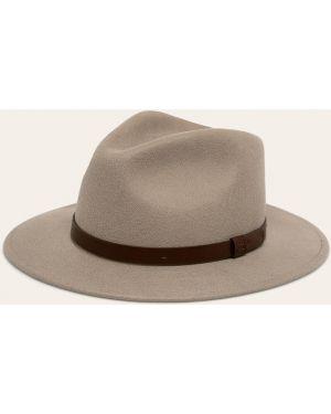Szary czapka beanie wełniany Brixton