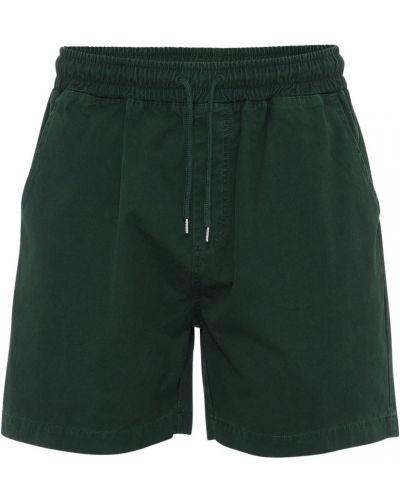 Zielone szorty Colorful Standard