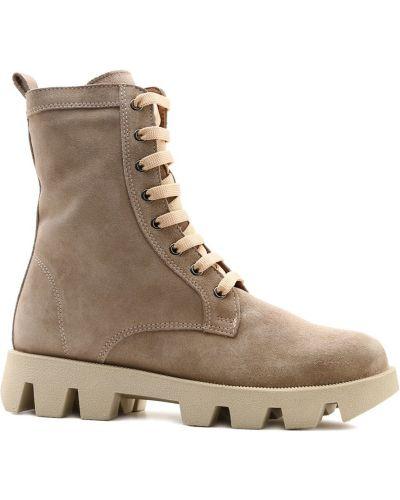 Ботинки на низком ходу - бежевые Prego