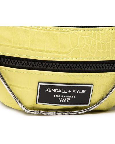 Поясная сумка с поясом - зеленая Kendall + Kylie