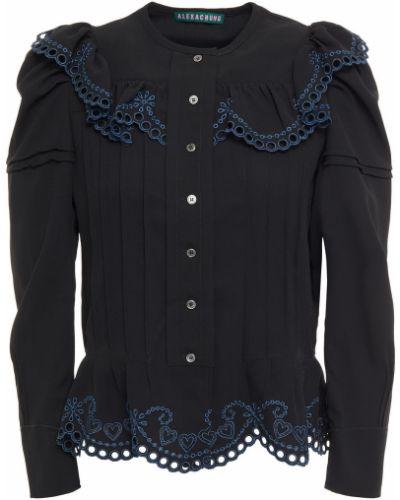 Czarna koszula Alexachung