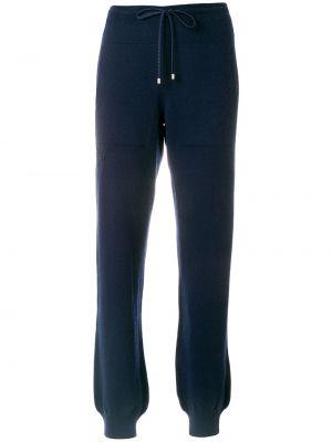 Спортивные кашемировые синие спортивные брюки Barrie