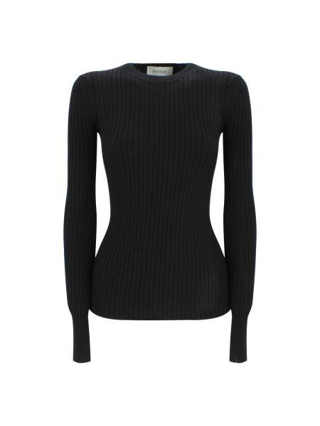 Czarna koszulka Sportmax