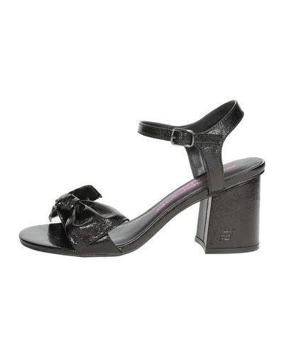 Czarne sandały Fornarina
