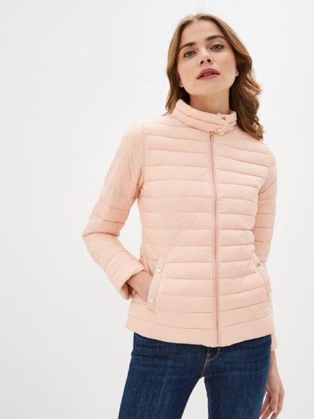Теплая розовая утепленная куртка Colin's