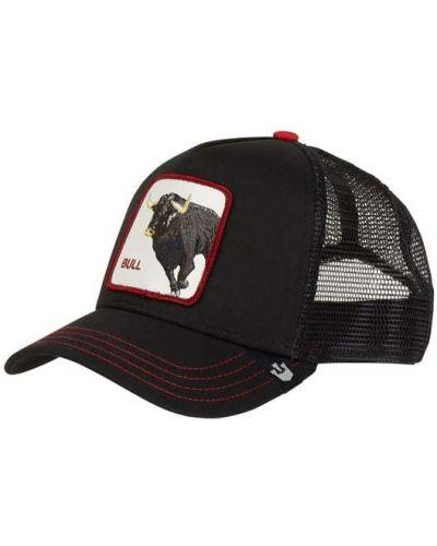 Z paskiem bawełna czarny czapka z daszkiem Goorin Bros