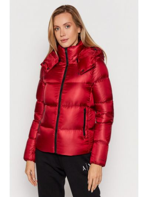Kurtka puchowa - czerwona Calvin Klein Jeans