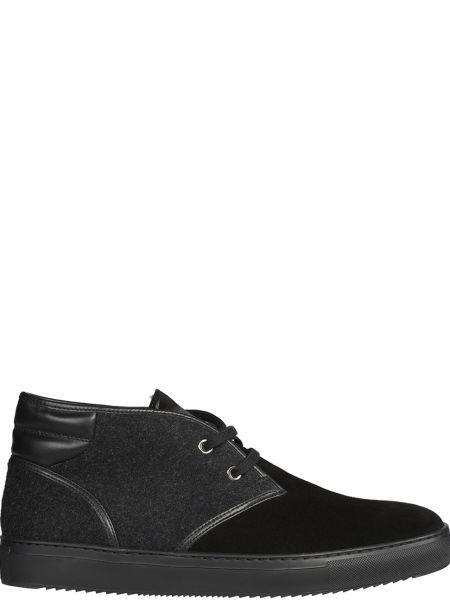 Ботинки из полиуретана - черные Fabi