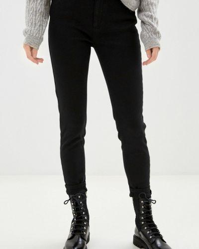 Черные джинсы-скинни узкого кроя Naf Naf