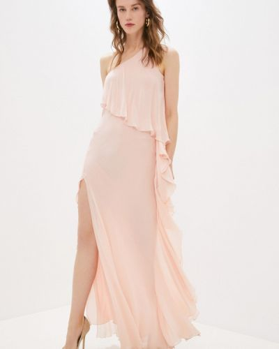 Розовое вечернее платье Patrizia Pepe