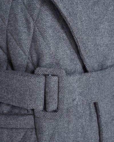 Стеганое пальто оверсайз джинсовое I Am  Studio
