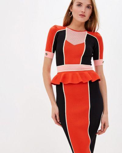 Повседневное платье осеннее Elisabetta Franchi