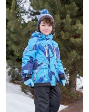 Зимний комбинезон флисовый с капюшоном Oldos