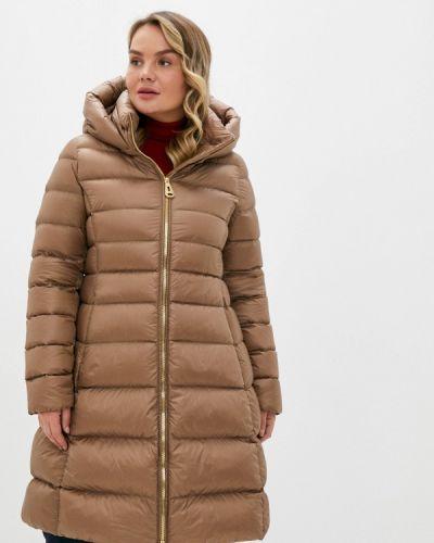 Бежевая зимняя куртка Betty Barclay