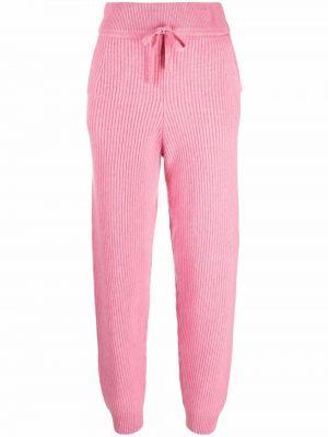 Spodnie prążkowane - różowe Rag & Bone