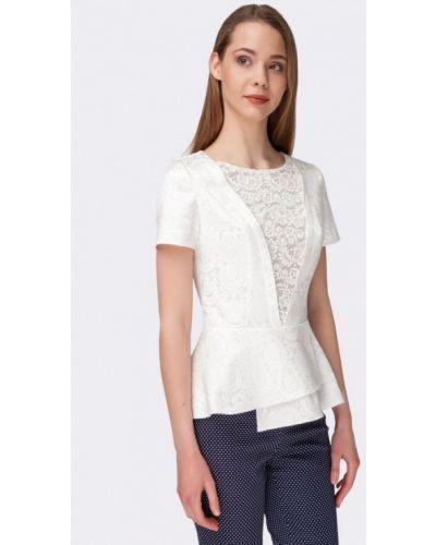 Белая блузка Cat Orange