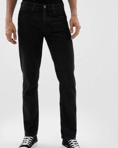 Прямые джинсы - черные O'stin