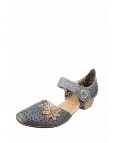 Кожаные туфли с открытой стопой немецкий Rieker