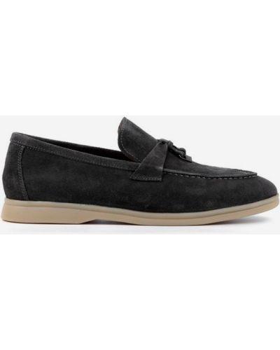 Серые туфли Leberdes