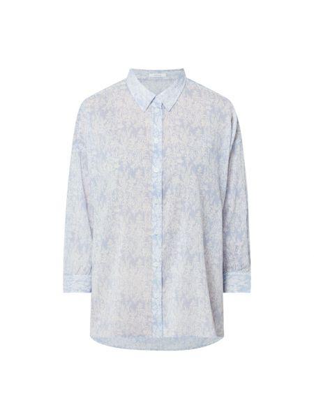 Bluzka bawełniana - niebieska Opus