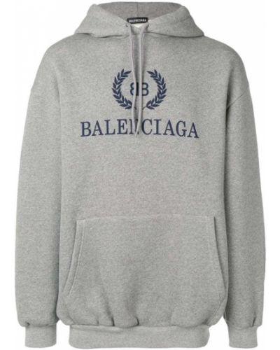 Толстовка с капюшоном с карманами Balenciaga