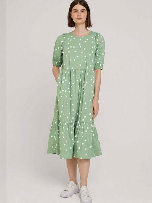 Джинсовое платье - бирюзовое Tom Tailor Denim