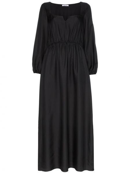Платье макси с вырезом эластичное Deitas