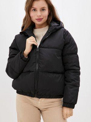 Черная утепленная куртка Incity
