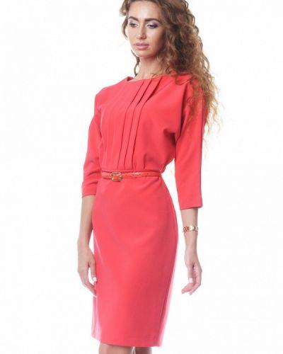 Прямое красное платье Oks By Oksana Demchenko