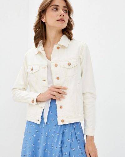 Белая джинсовая куртка Brave Soul