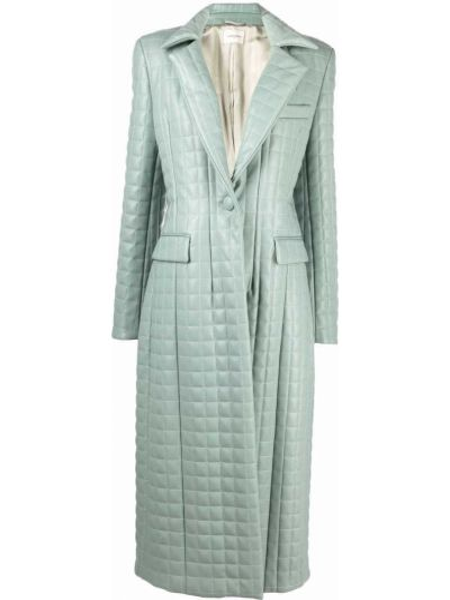 Синее стеганое пальто Giuseppe Di Morabito