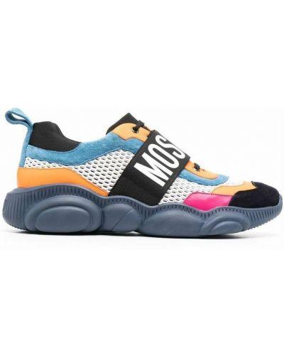 Sneakersy - niebieskie Moschino