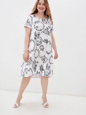 Белое весеннее платье Helmidge