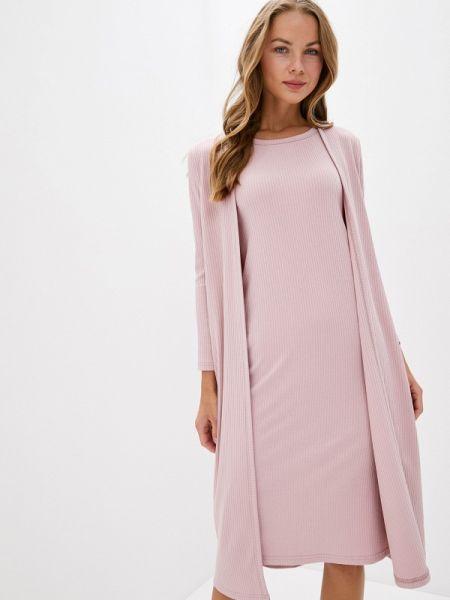 Платье розовое прямое Trendyangel