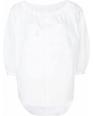 Хлопковая блузка - белая Le Ciel Bleu