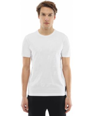 Koszula z nadrukiem z logo Fendi
