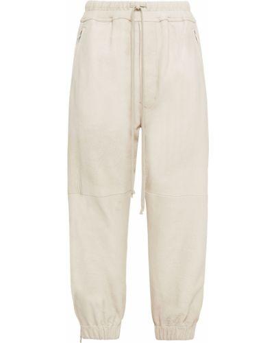 Spodnie skorzane vintage Rick Owens