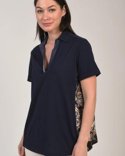 Хлопковая футболка Elena Miro