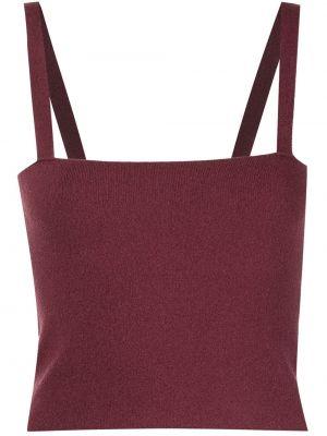 Fioletowa koszulka bez rękawów Altuzarra