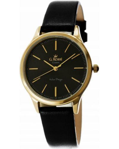 Zegarek na skórzanym pasku Gino Rossi
