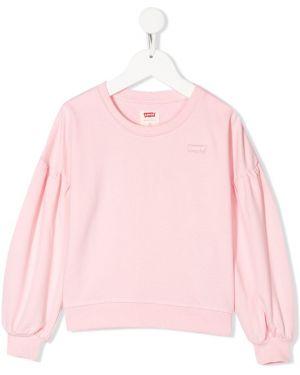 Bluza różowy Levis Kids